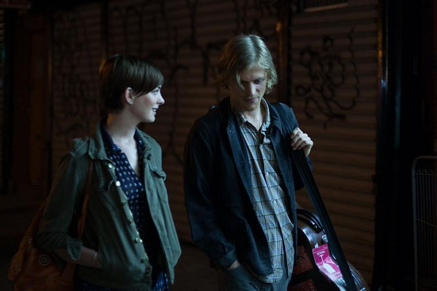 Franny (Anne Hathaway) meets singer-songwriter James (Johnny Flynn) after her musician brother is knocked down by a car. -- PHOTO: SHAW ORGANISATION