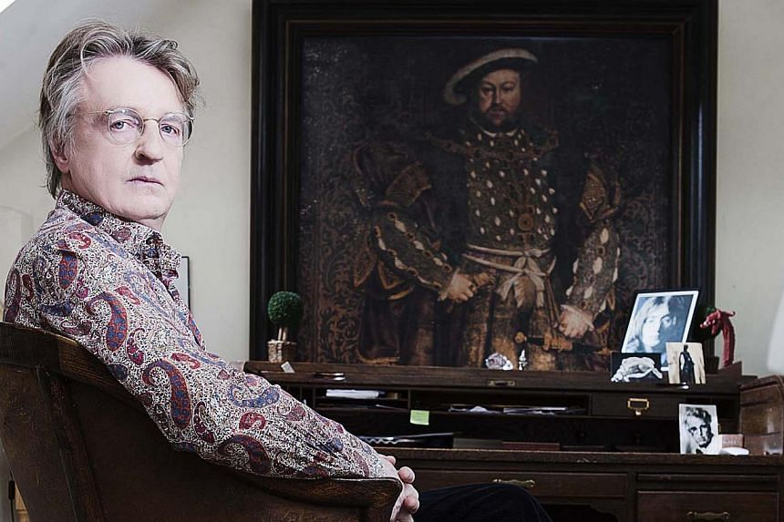 Michael Hirst (above), screenwriter, producer and showrunner behind lauded TV dramas The Tudors, The Borgias and Vikings. -- PHOTO: HISTORY CHANNEL