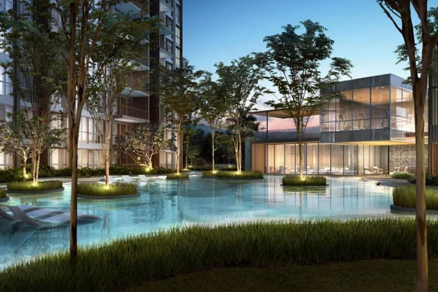 Bellewoods (above), The Amore and Lake Life are three of the five projects launched from November to January. -- PHOTO: QINGJIAN REALTY