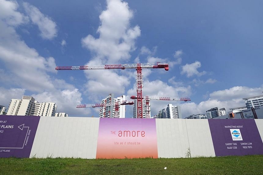 Bellewoods, The Amore (above) and Lake Life are three of the five projects launched from November to January. -- PHOTO: ST FILE