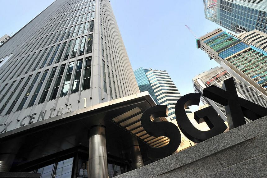 A lack of clear leads meant a listless trading session on the Singapore Exchange on Wednesday. -- ST PHOTO: LIM YAOHUI