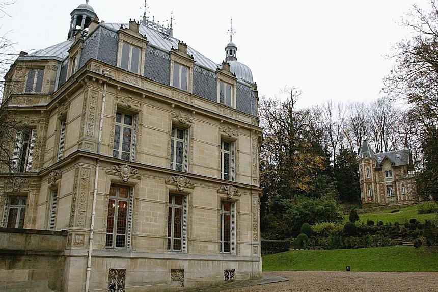 Nearly one million euros (S$1.52 million) is needed to restore the Monte-Cristo castle that was once home to famed novelist Alexandre Dumas, author of classics including The Three Musketeers. -- PHOTO: AFP