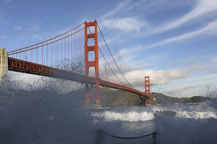 Mr Hines, who jumped off San Francisco's Golden Gate Bridge to try to take his own life and was kept afloat by a sea lion, said on Wednesday that suicide prevention was now his life's work. -- PHOTO: REUTERS