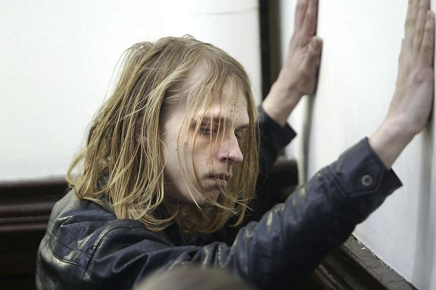 Randall Steven Shepherd, 20, arrives at Halifax Provincial Court in Halifax, Nova Scotia on Feb 17, to face chargesin a plot to massacre as many people as possible in a Valentine's Day shooting spree at a Halifax mall. Yesterday Canadian police