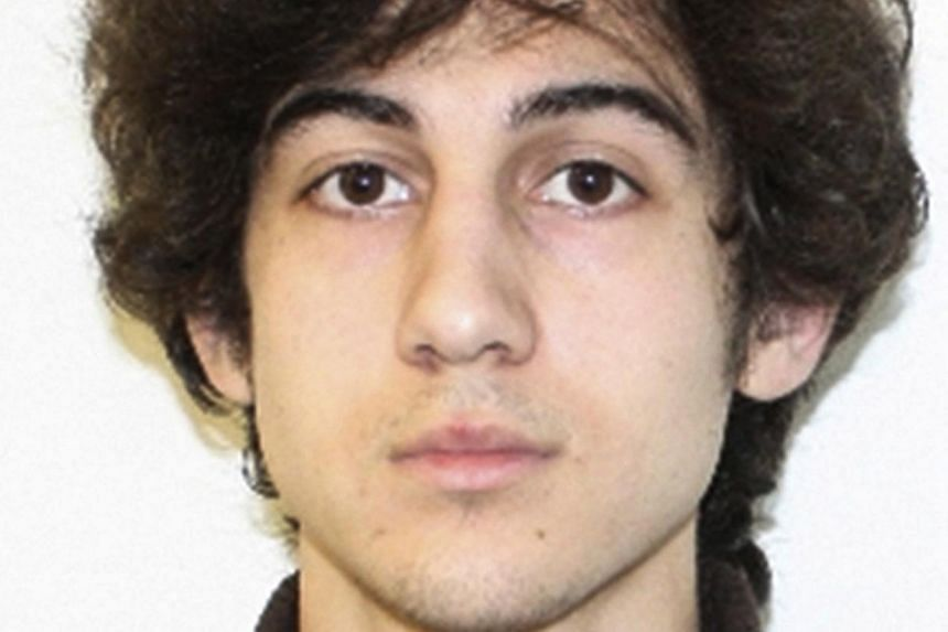 Kyrgyzstan-born Dzhokhar Tsarnaev, 21 (above), faces the death penalty if convicted of bombing Boston's signature race. -- PHOTO: REUTERS