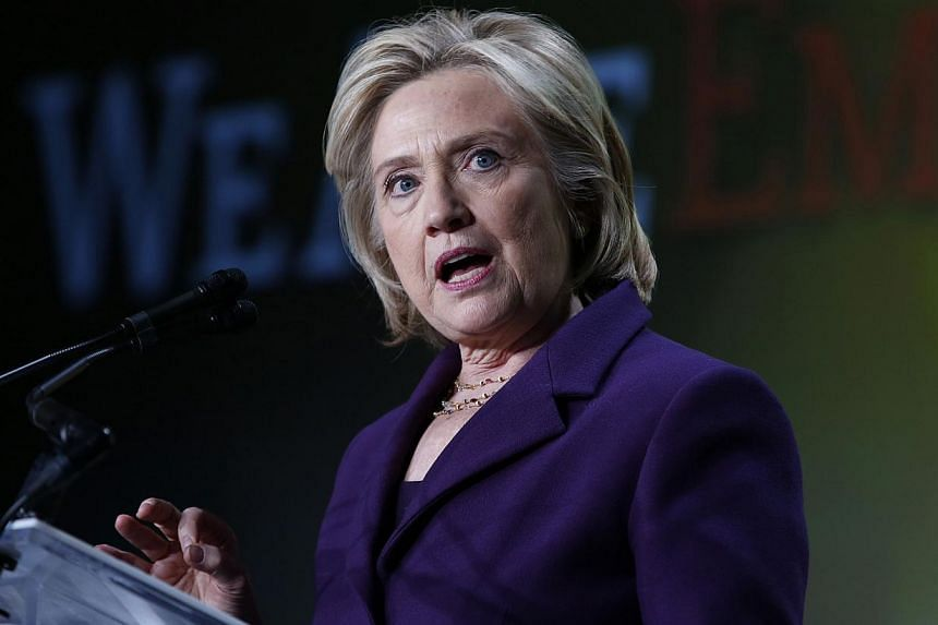 Democrat Hillary Clinton broke her silence over a budding controversy involving her e-mails when she was secretary of state, saying she wanted the US State Department to release them swiftly. -- PHOTO: REUTERS