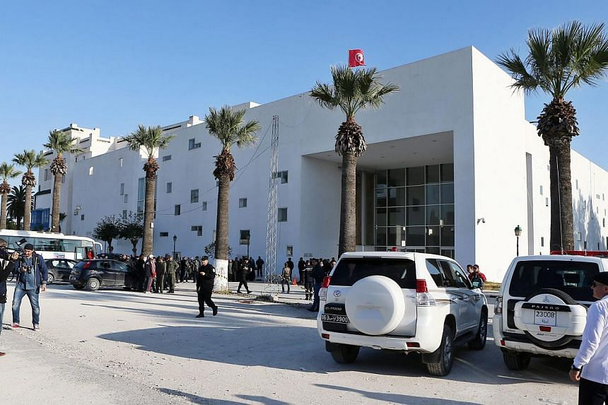The National Bardo Museum in the capital of Tunisia, where 17 tourists were killed in a terrorist attack on Wednesday. The deaths represent a loss of innocence for the one country to emerge from the Arab Spring as a constitutional democracy. -- PHOTO