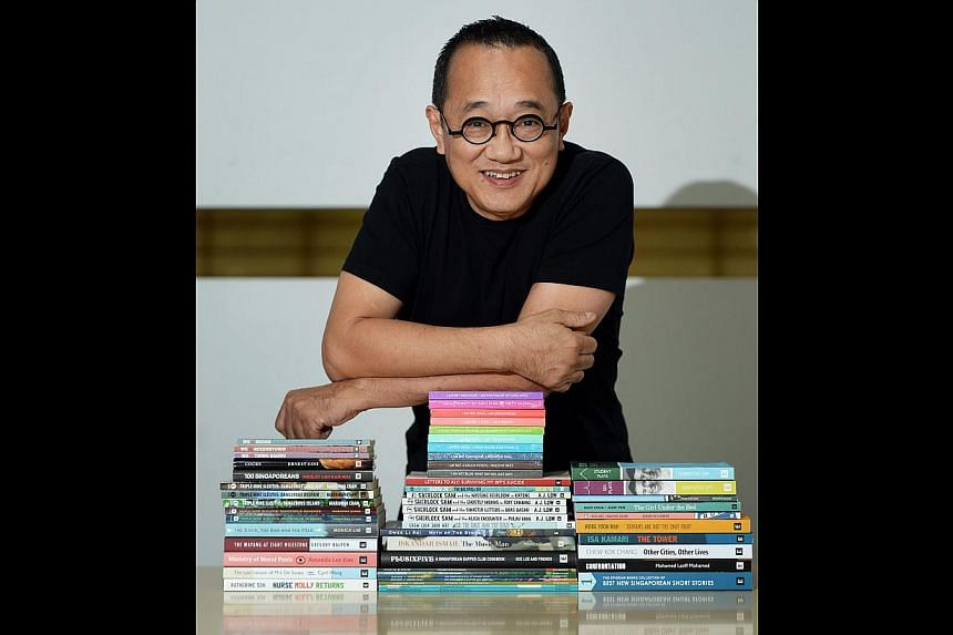 The $20,000 prize by Epigram Books, founded by Mr Edmund Wee (left), is the richest one here for English fiction.