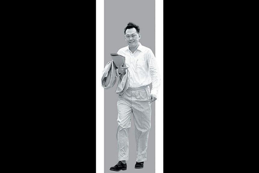 Mr Lee Kuan Yew.