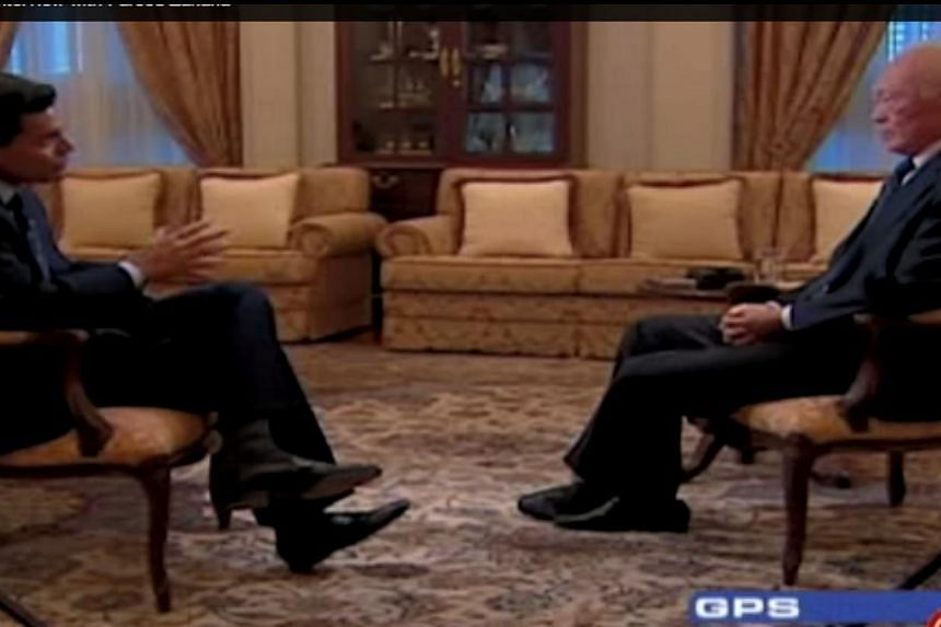 CNN's Fareed Zakaria pays tribute to Mr Lee Kuan Yew on his GPS cable TV show