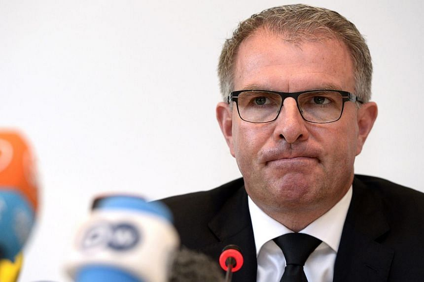 Lufthansa CEO Carsten Spohr said on Wednesday, April 1, 2015, that it will take a long while to establish the events that led to the Germanwings plane crash last week. -- PHOTO: AFP