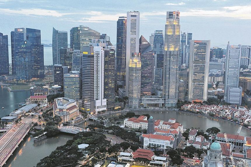 """Ratings agency Standard & Poor's has affirmed Singapore's sovereign credit strength with a top AAA unsolicited rating and a """"stable"""" outlook. -- PHOTO: ST FILE"""