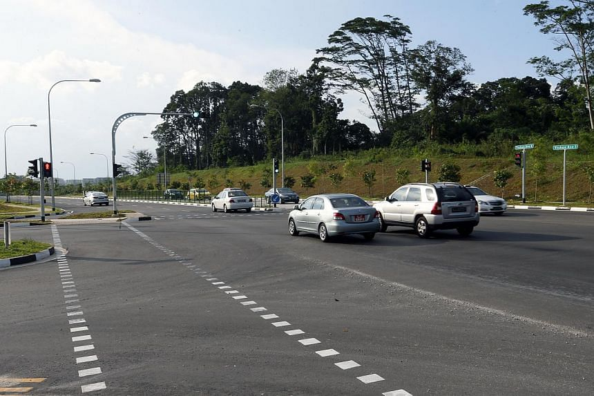 Yishun Avenue 8 provides an alternative route for motorists travelling from Yishun to a widened Seletar West Link and TPE.
