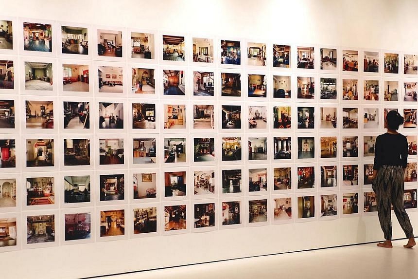 Dalam (2001), which is Malay for inside, comprises 260 photographs of living rooms taken across West Malaysia over three months. -- PHOTO: NTU CCA SINGAPORE
