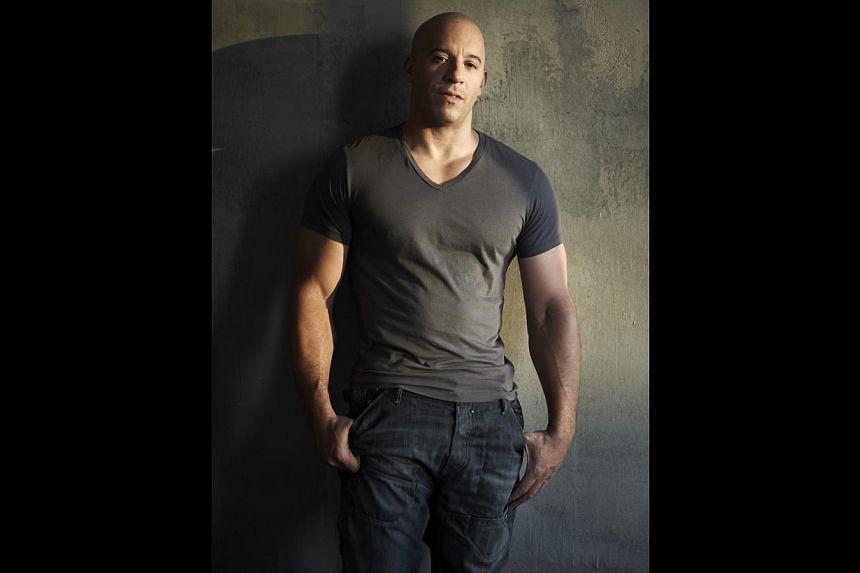 Vin Diesel. -- PHOTO: UIP