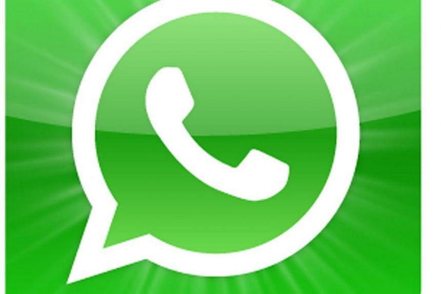 The WhatsApp app icon. -- PHOTO: SPH
