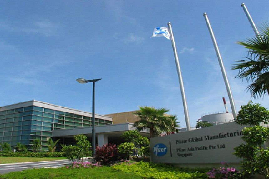 Pfizer Asia Pacific's Singapore Plant at 31, Tuas South Ave 6. -- PHOTO: PFIZER