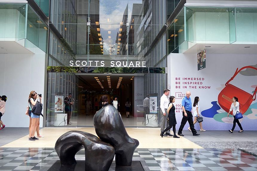 London Fat Duck, opening at Scotts Square (above) next month, is a joint venturebetween Mr Mervin Goh of Akashi Group and Mr Tan Kim Siong of Fei Siong Group. -- ST PHOTO: DANIEL NEO