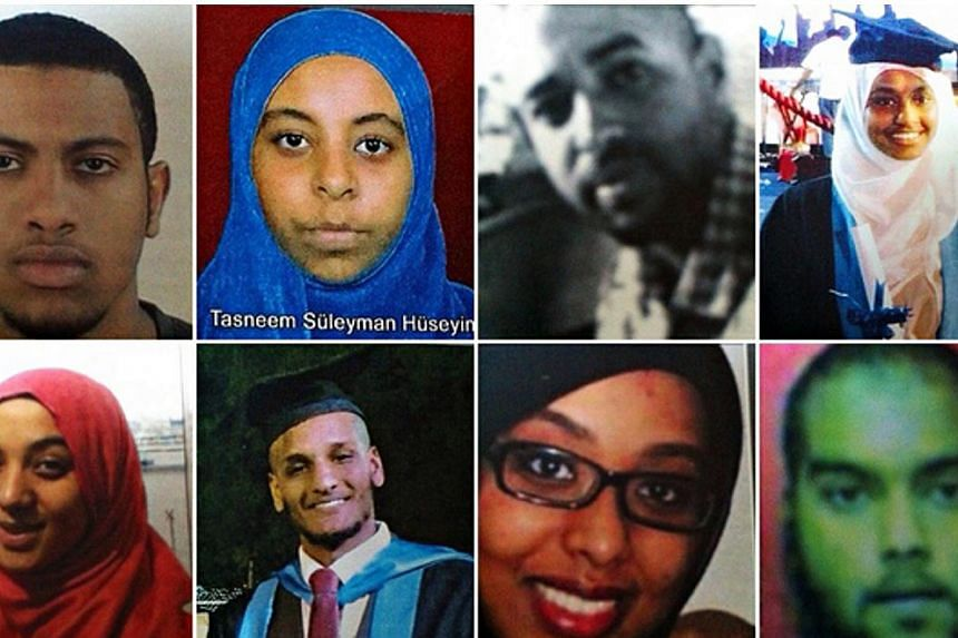 19-year-old British student Lena (bottom left) was part of a group of medics thought to have travelled to join ISIS. A Turkish lawmaker said on Thursday said she has now changed her mind and has told her family she wants to go home. -- PHOTO: THE GUA