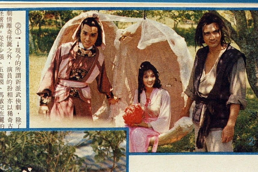 Ng Wai Kwok, Ma Man Yee and Hsu Shao-chiang in RTV's Reincarnated. -- PHOTO: APPLE DAILY