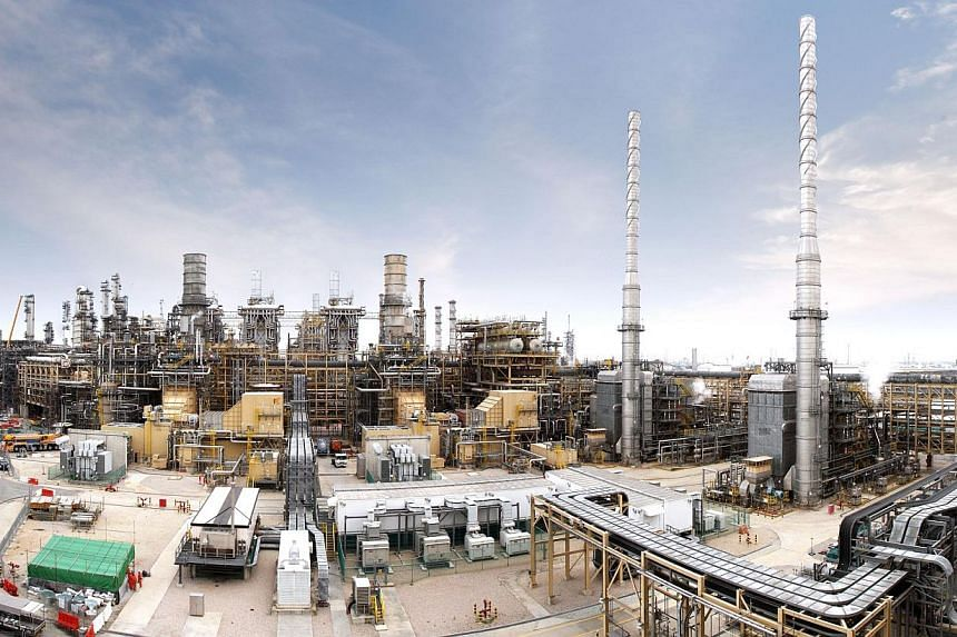 One of the two existing cogeneration facility that ExxonMobil has in its integrated petrochemical and refining complex. --PHOTO:EXXONMOBIL