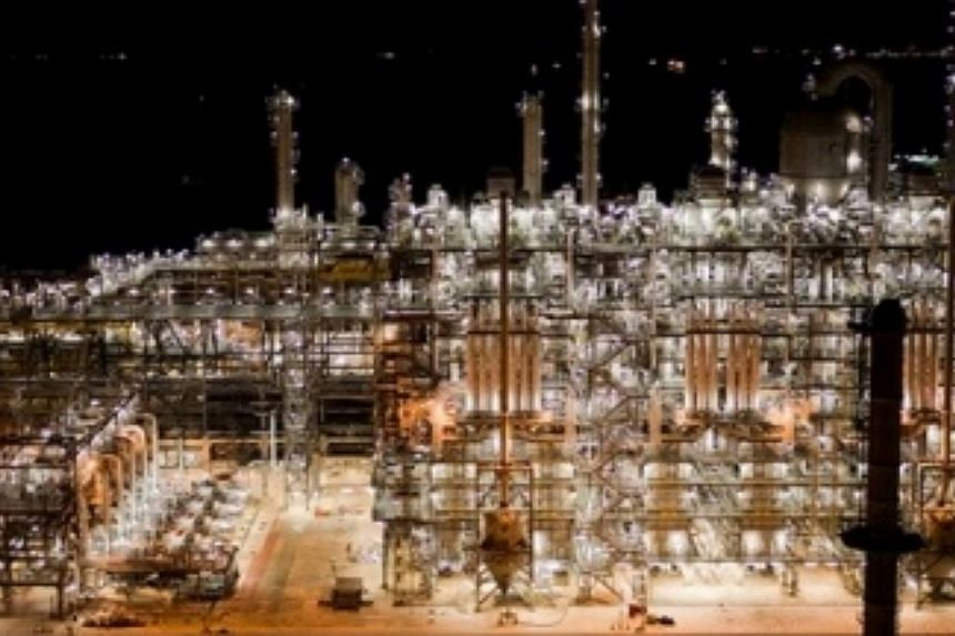 Shell Singapore has finished upgrading its ethylene cracker complex on Bukom Island, boosting production of ethylene by more than 20 per cent. -- PHOTO: SHELL