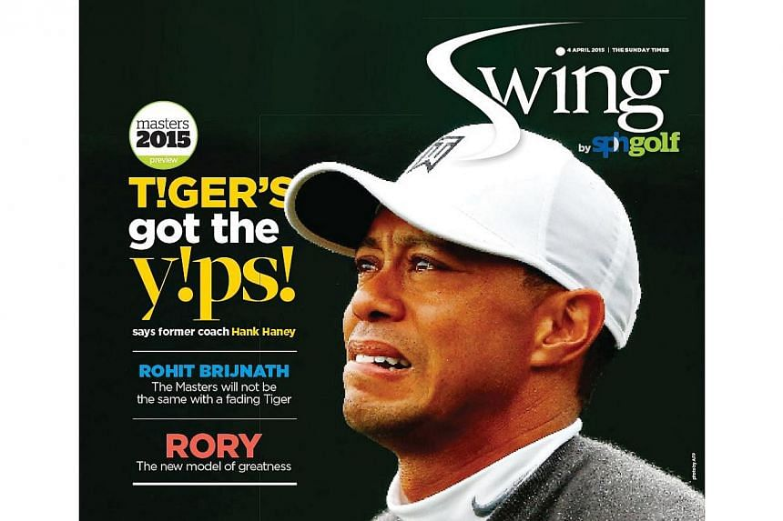 The cover of the first issue ofSwing that will appear onThe Sunday Times on April 5.