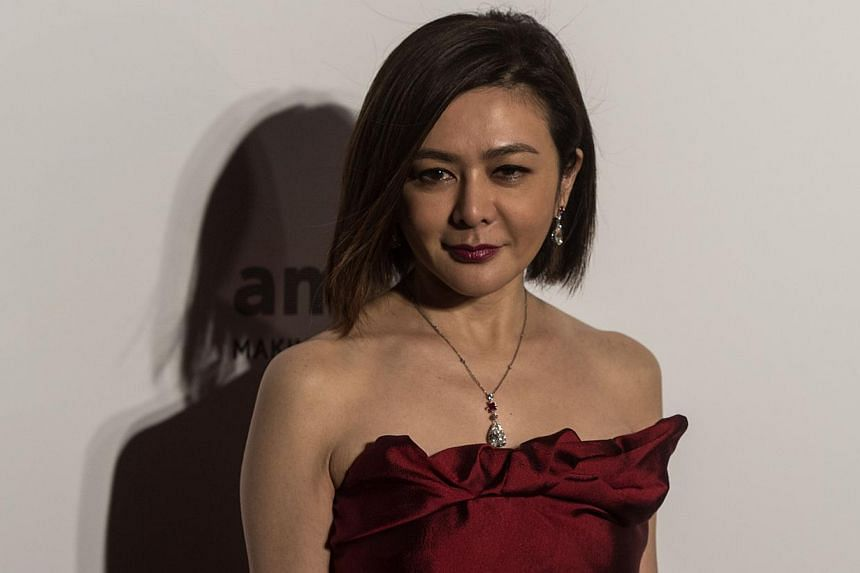 Rosamund Kwan was one of the stars whose careers were launched thanks to ATV. -- PHOTO: AFP