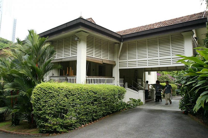 The task of balancing public interest with private preferences has fallen on his son, PM Lee, who reiterated in Parliament that his father had strenuously opposed preserving 38, Oxley Road as a relic to his memory. -- ST PHOTO: FRANCIS ONG