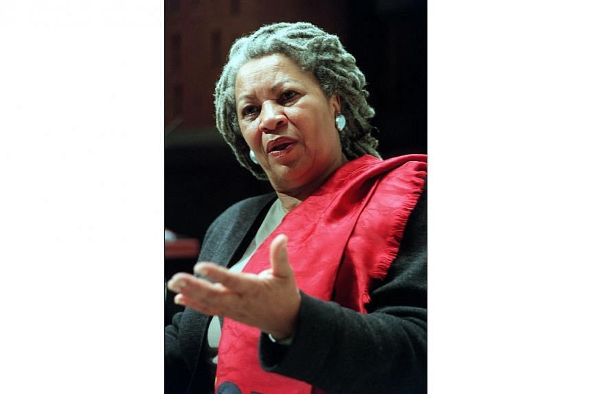 """""""Quiet as it's kept,"""" begins Toni Morrison's first novel, The Bluest Eye, appropriate for a book published in 1970 about issues difficult to raise, such as the aftereffects of sexual assault. -- ST PHOTO: SIM CHI YIN"""