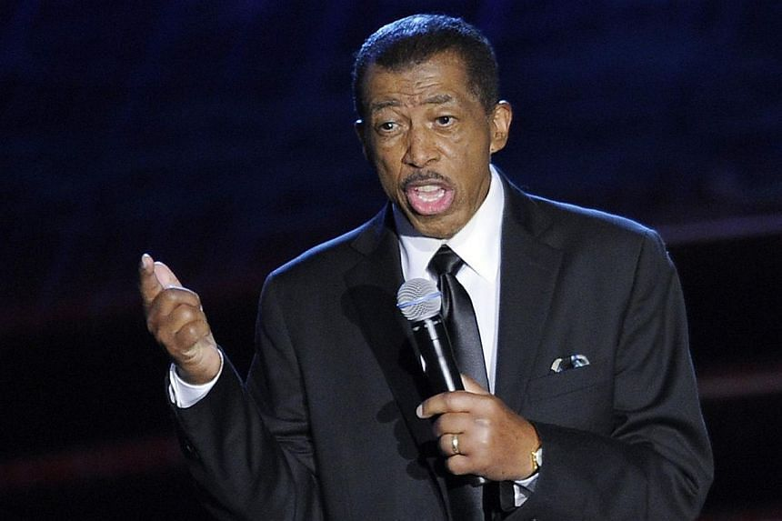 Ben E. King performing at the Songwriters Hall of Fame 2012 Annual Induction and Awards Ceremony in New York. King died of natural causes on Thursday.-- PHOTO: AFP