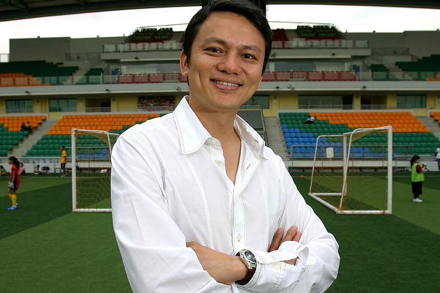 FAS general secretary Winston Lee was elected as vice-president of the Asean Zone in the Asian Football Confederation (AFC). -- PHOTO: THE NEW PAPER FILE