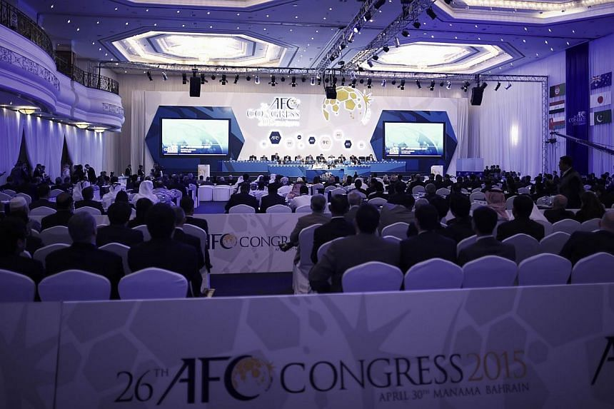 The Asian Football Confederation (AFC) has thrown its weight behind an eventual World Cup bid by China and insisted the teeming wider region deserves greater representation at the tournament. -- PHOTO: AFP