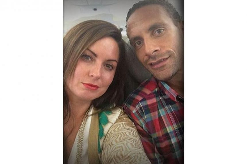 Former Manchester United defender Rio Ferdinand's wife Rebecca has died after a short battle with cancer, the footballer said in a statement on Saturday. -- PHOTO: QPR.CO.UK