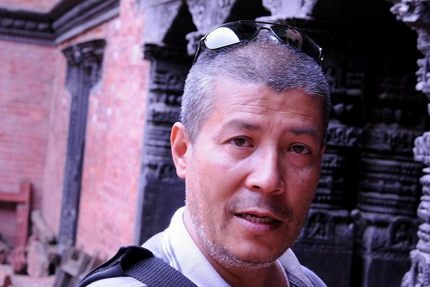 Restoring the temples of Patan- a culturally rich city in the Kathmandu valley - is the biggest challenge of his career for conservation architect Mr Rohit Ranjitkar (above). -- ST PHOTO: NIRMAL GHOSH