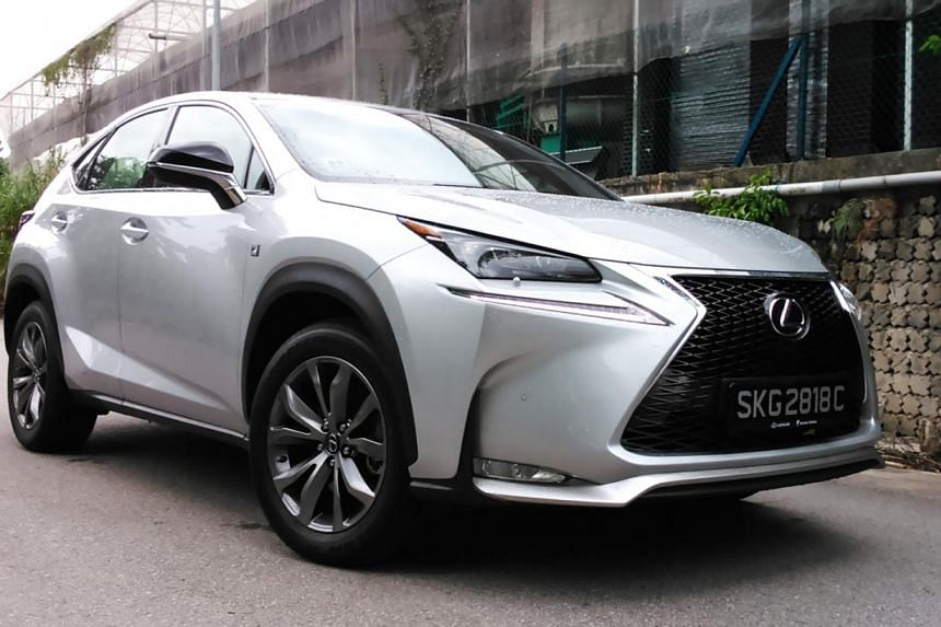 Lexus NX200t F Sport. -- PHOTO: CHRISTOPHER TAN