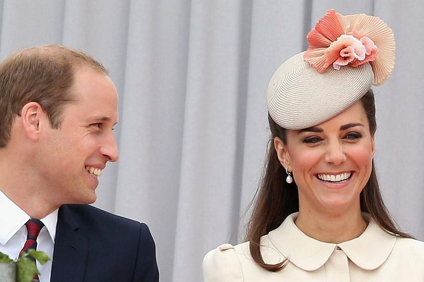 The Duchess of Cambridge has given birth to a girl, hours after going into labour, Kensington Palace announced on Saturday.-- PHOTO: AFP