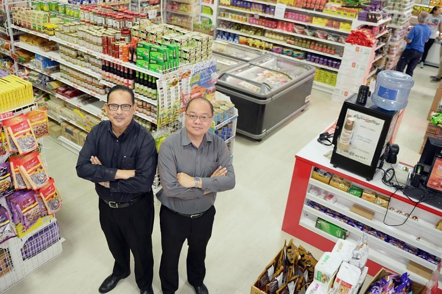 Mr Malek Mattar and Mr Ronnie Tan opened My Outlets Global Halal Hub at Oxley BizHub eight months ago.