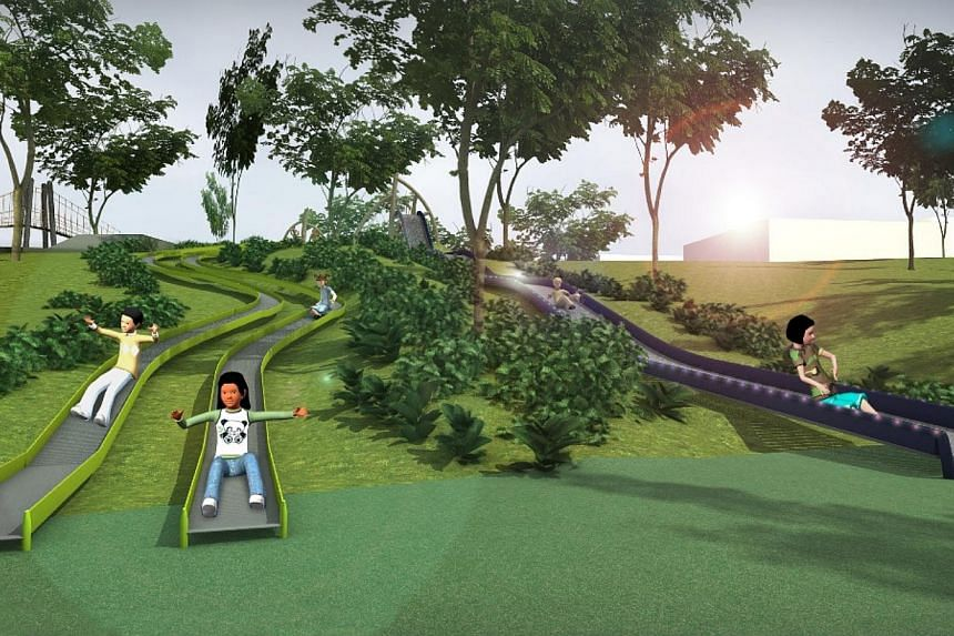 Residents living near Admiralty Park in Woodlands will soon get a better park experience, after upgrading works are completed next year. -- PHOTO:NPARKS