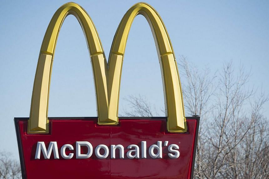 New McDonald's Corp CEO Steve Easterbrook is set to unveil a much-anticipated plan to put the shine back on the Golden Arches, with the company suffering its worst sales slump in more than 10 years. -- PHOTO: AFP