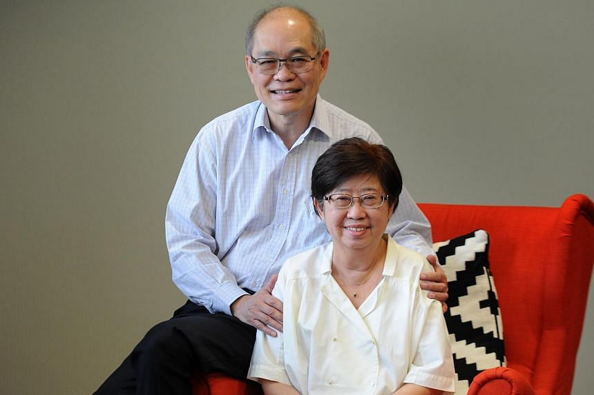 Retiree Chan Li Leng, 60, credits her husband, Paul, for being her companion during her fight against multiple myeloma. She is behind a charity walk-and-cycle event to raise awareness and research funds for the condition here.