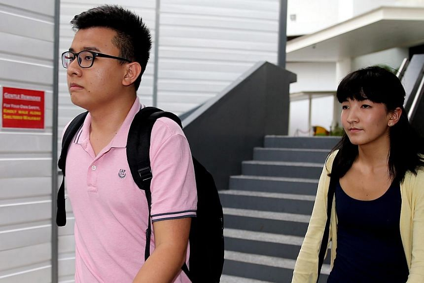 Mr Yang Kaiheng, 26, and Ms Ai Takagi, 22, editors of socio-political website The Real Singapore (TRS). A group of bloggers has asked the Media Development Authority to revoke its decision to suspend the licence of the editors to operate TRS. -- ST P