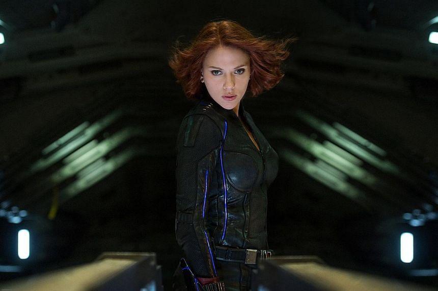 Marvel's Avengers: Age Of Ultron stars Scarlett Johansson -- PHOTO:DISNEY