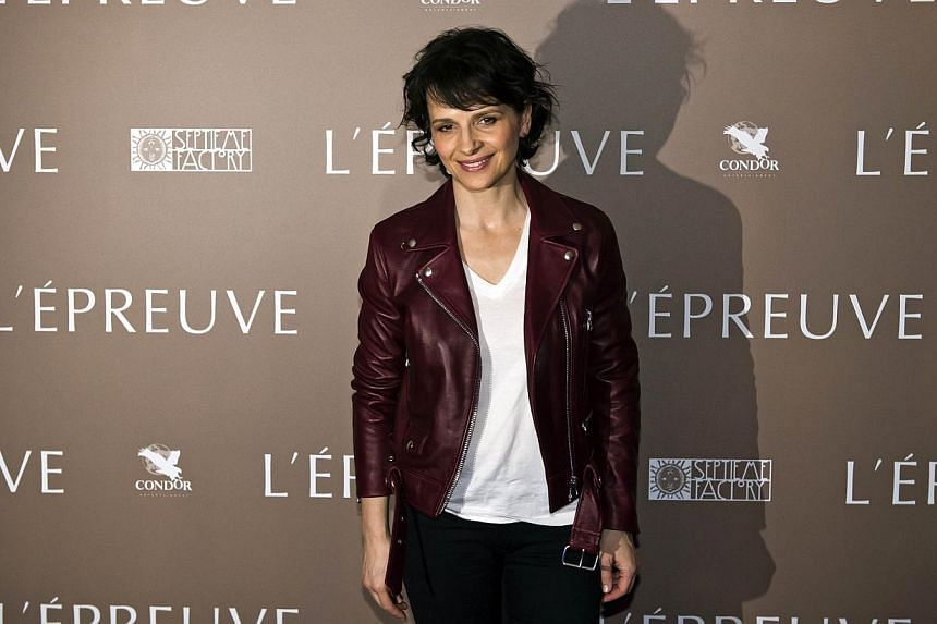 French actress Juliette Binoche will play the role of Nobel literature laureate Pearl S. Buck in a film about her life, showbiz magazine Variety reported on Monday. -- PHOTO: AFP