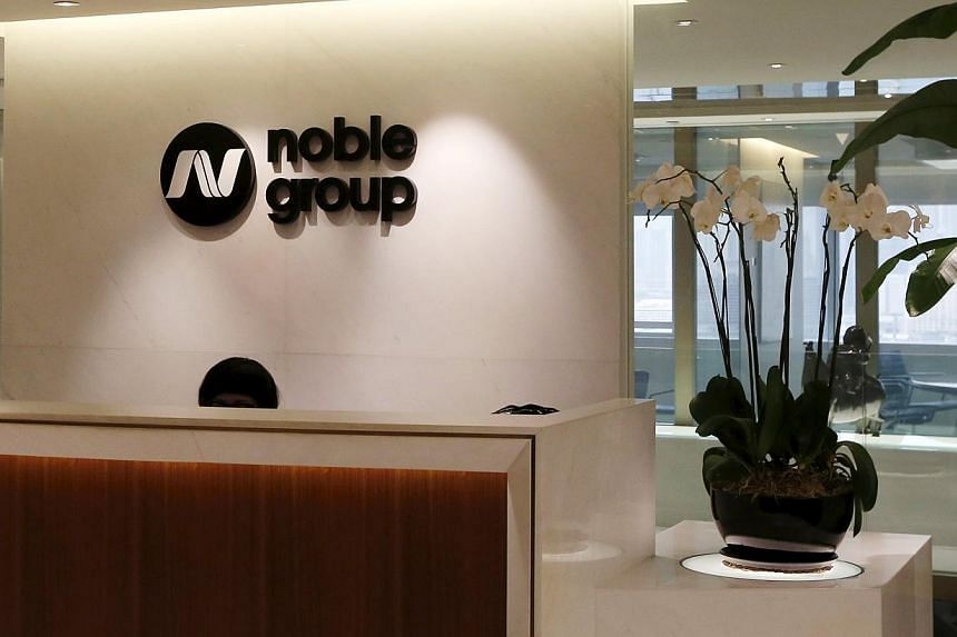 Noble said earnings last year were at a high base due to stronger energy market conditions. -- PHOTO: REUTERS