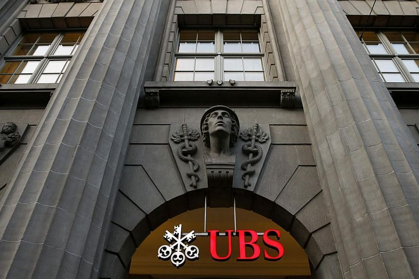 UBS Group, Switzerland's biggest bank, said net income in the first three months of the year almost doubled in a quarter that saw all divisions beat analyst estimates.-- PHOTO: REUTERS