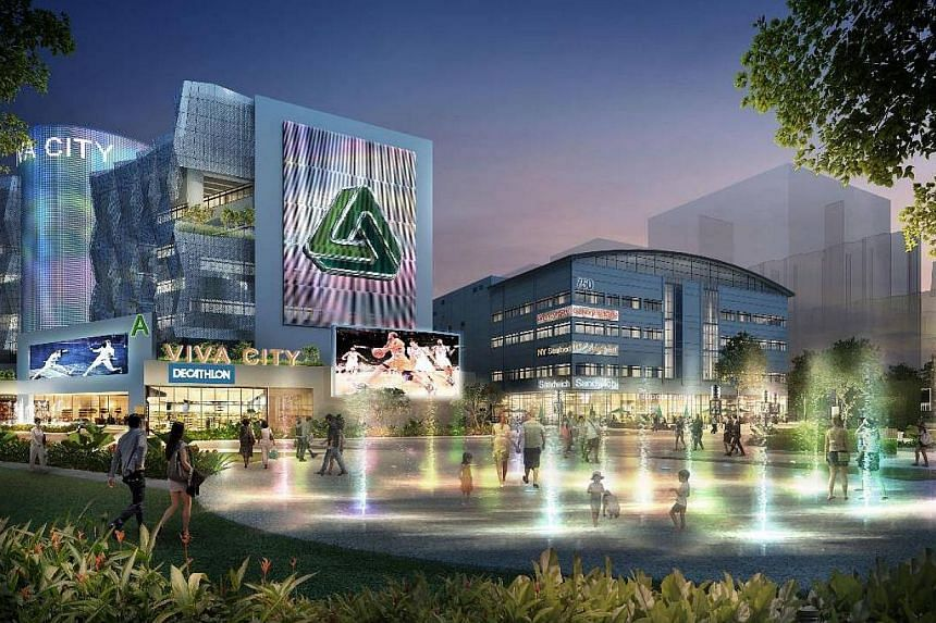 An artist's impression of the revamped Technopark@Chai Chee. -- PHOTO: VIVA INDUSTRIAL TRUST