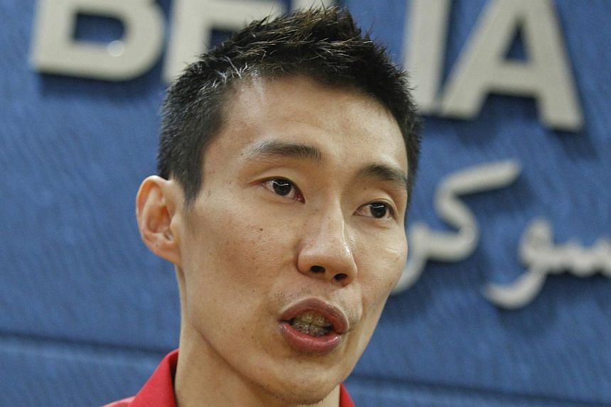 Malaysia have named former world No. 1 Lee Chong Wei in their badminton squad for next month's SEA Games. -- PHOTO: EPA