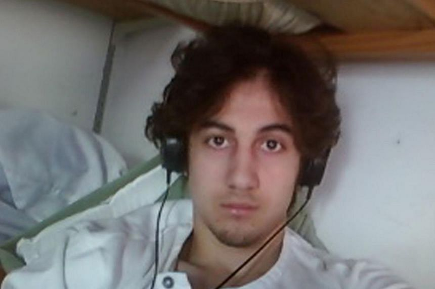Tsarnaev, 21, was found guilty last month of bombing the race's crowded finish line on April 15, 2013, in one of the highest-profile attacks on US soil since Sept 11, 2001. -- PHOTO: AFP
