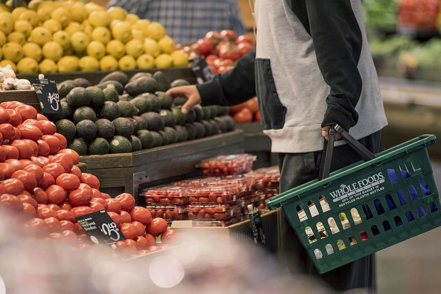 Global food prices fell in April to their lowest since June 2010, with prices sliding for most commodities, led by dairy prices, says the United Nations food agency. -- PHOTO: BLOOMBERG
